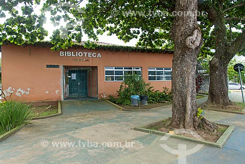 Fachada da Biblioteca Municipal de São Sebastião  - São Sebastião - São Paulo (SP) - Brasil