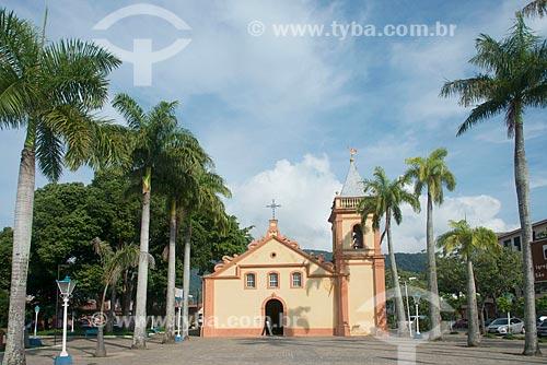 Fachada da Igreja Matriz de São Sebastião (1609)  - São Sebastião - São Paulo (SP) - Brasil