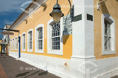 Fachada do Secretaria de Turismo e Cultura no centro histórico de São Sebastião  - São Sebastião - São Paulo (SP) - Brasil