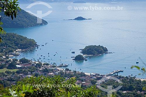 Vista geral da Vila do Abraão  - Angra dos Reis - Rio de Janeiro (RJ) - Brasil