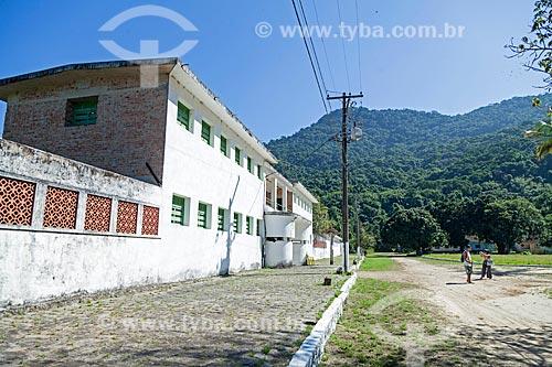 Fachada do antigo Presídio de Ilha Grande - atualmente Ecomuseu Ilha Grande  - Angra dos Reis - Rio de Janeiro (RJ) - Brasil