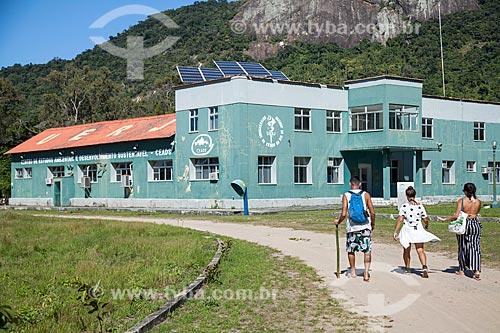 Fachada do Centro de Estudos Ambientais e Desenvolvimento Sustentável (CEADS) da Universidade do Estado do Rio de Janeiro  - Angra dos Reis - Rio de Janeiro (RJ) - Brasil