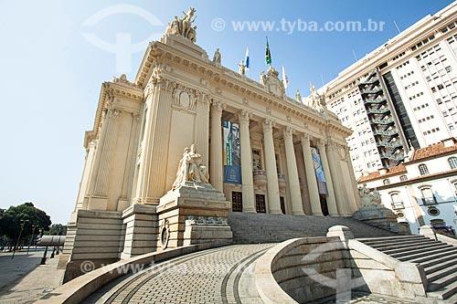 Fachada da Assembleia Legislativa do Estado do Rio de Janeiro (ALERJ) - 1926  - Rio de Janeiro - Rio de Janeiro (RJ) - Brasil