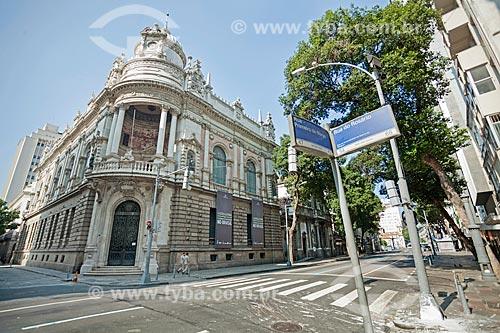 Fachada do edifício sede do Tribunal Regional Eleitoral  - Rio de Janeiro - Rio de Janeiro (RJ) - Brasil