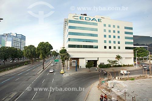 Edifício sede da Companhia Estadual de Águas e Esgotos (CEDAE) - concessionária de serviços de tratamento de água e esgoto  - Rio de Janeiro - Rio de Janeiro (RJ) - Brasil