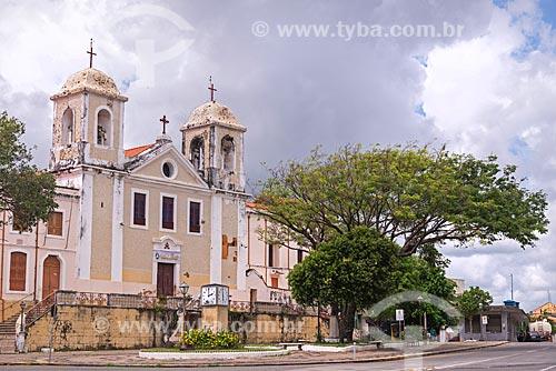 Fachada do Convento e Igreja de Nossa Senhora do Carmo (1627)  - São Luís - Maranhão (MA) - Brasil
