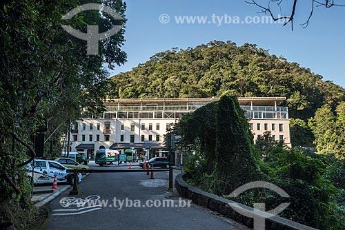 Vista do Centro de visitantes no Parque Nacional da Tijuca  - Rio de Janeiro - Rio de Janeiro (RJ) - Brasil