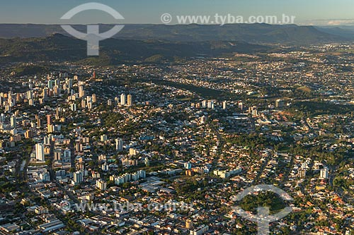 Foto aérea da cidade de Novo Hamburgo  - Novo Hamburgo - Rio Grande do Sul (RS) - Brasil