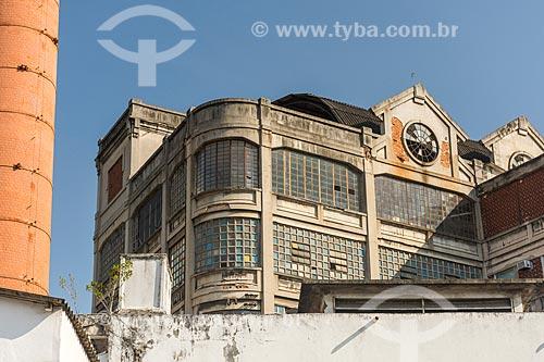 Fachada da antiga Fábrica da Bhering - hoje abriga o Centro Cultural  - Rio de Janeiro - Rio de Janeiro (RJ) - Brasil