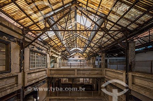Interior da antiga Fábrica da Bhering - hoje abriga o Centro Cultural  - Rio de Janeiro - Rio de Janeiro (RJ) - Brasil