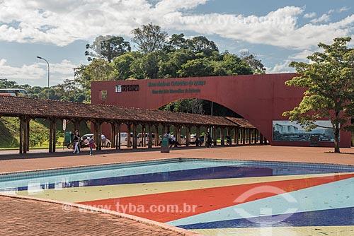 Entrada da Parque Nacional do Iguaçu  - Foz do Iguaçu - Paraná (PR) - Brasil
