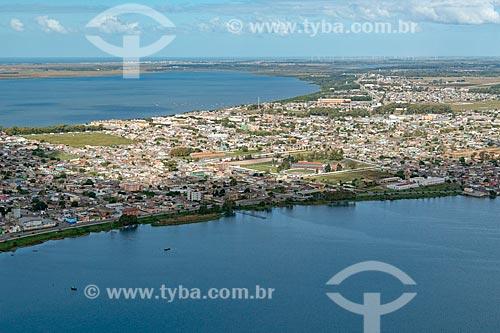 Vista aérea de Rio Grande  - Rio Grande - Rio Grande do Sul (RS) - Brasil