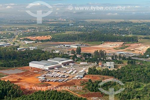 Vista aérea de área industrial de Nova Santa Rita  - Nova Santa Rita - Rio Grande do Sul (RS) - Brasil
