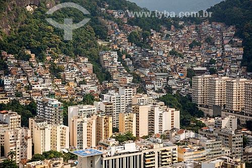 Vista do Morro dos Cabritos a partir do Pico da Agulha do Inhangá no Parque Estadual da Chacrinha  - Rio de Janeiro - Rio de Janeiro (RJ) - Brasil
