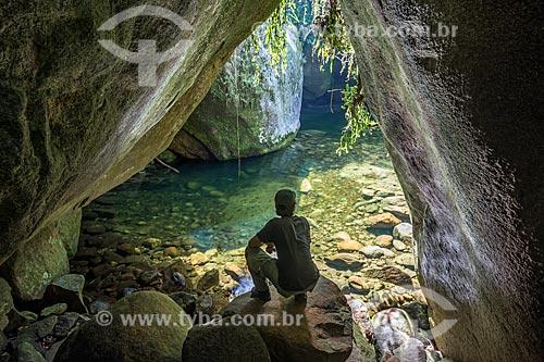 Poço da Verde próximo ao Centro de Visitantes von Martius do Parque Nacional da Serra dos Órgãos  - Resende - Rio de Janeiro (RJ) - Brasil