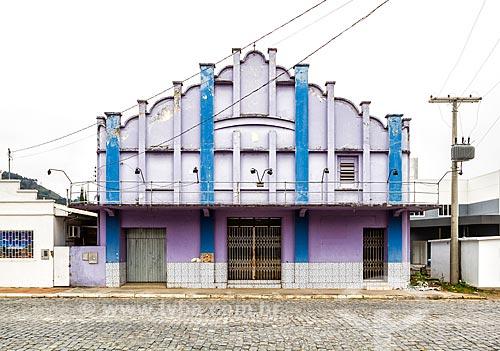 Prédio onde funcionava o cinema da cidade de Urubici  - Urubici - Santa Catarina (SC) - Brasil