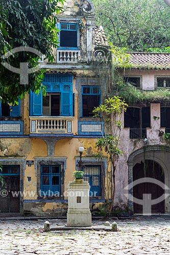 Casarios abandonado no Largo do Boticário  - Rio de Janeiro - Rio de Janeiro (RJ) - Brasil