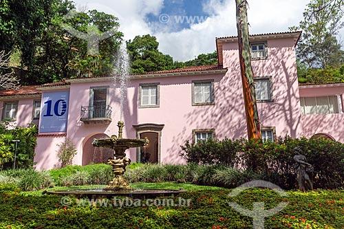 Fachada do Instituto Casa de Roberto Marinho (1939)  - Rio de Janeiro - Rio de Janeiro (RJ) - Brasil