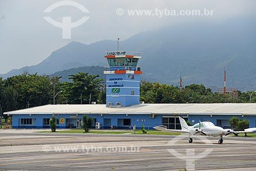 Pista do Aeroporto Roberto Marinho - mais conhecido como Aeroporto de Jacarepaguá  - Rio de Janeiro - Rio de Janeiro (RJ) - Brasil