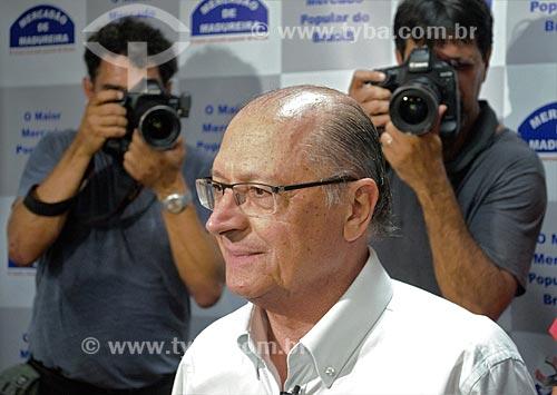 Geraldo Alckmin - candidato à presidência pelo Partido da Social Democracia Brasileira (PSDB) - no Grande Mercado de Madureira (1959) - mais conhecido como Mercadão de Madureira  - Rio de Janeiro - Rio de Janeiro (RJ) - Brasil