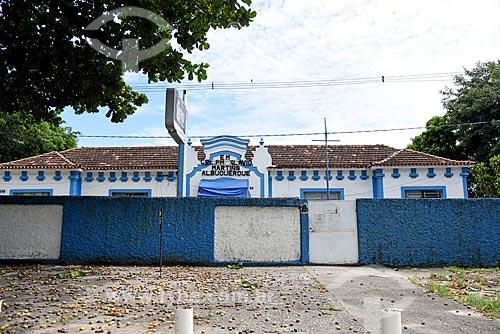 Fachada da Escola Municipal Coronel PM Flavio Martins Albuquerque  - Rio de Janeiro - Rio de Janeiro (RJ) - Brasil