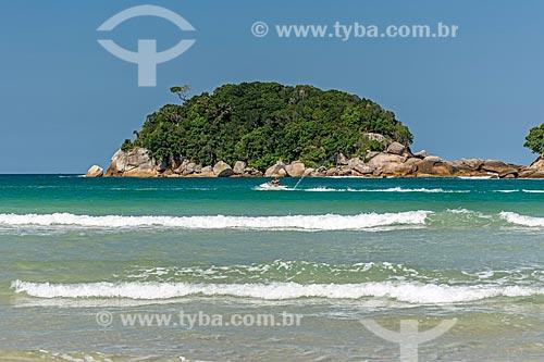 Vista da orla da Praia de Dois Rios  - Angra dos Reis - Rio de Janeiro (RJ) - Brasil