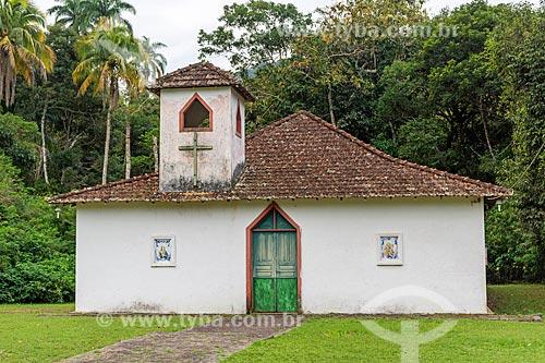 Fachada da Capela de Nossa Senhora do Bom Despacho (1938) na Vila de Dois Rios  - Angra dos Reis - Rio de Janeiro (RJ) - Brasil