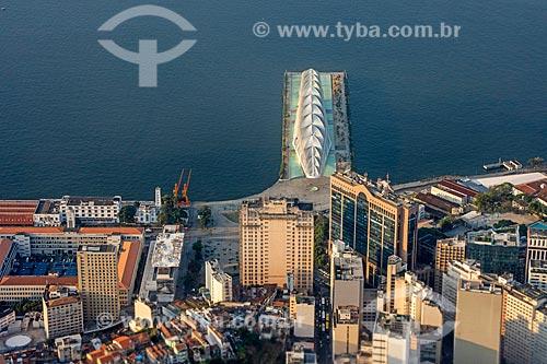 Foto aérea do Museu do Amanhã  - Rio de Janeiro - Rio de Janeiro (RJ) - Brasil