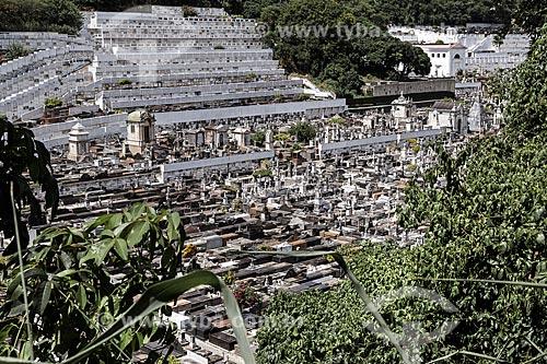 Vista de cima do Cemitério São João Batista  - Rio de Janeiro - Rio de Janeiro (RJ) - Brasil