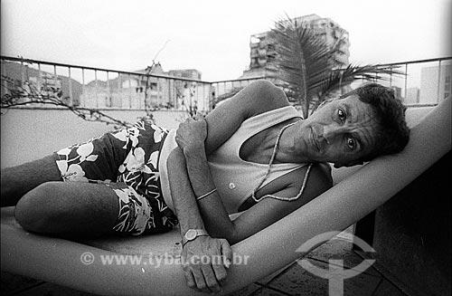 Detalhe do cantor Caetano Veloso  - Rio de Janeiro - Rio de Janeiro (RJ) - Brasil