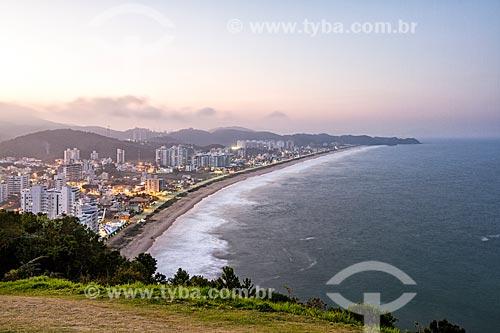 Vista da Praia Brava a partir do Morro do Careca  - Balneário Camboriú - Santa Catarina (SC) - Brasil