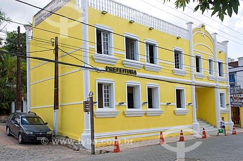 Fachada da Prefeitura da cidade de Guaramiranga  - Guaramiranga - Ceará (CE) - Brasil