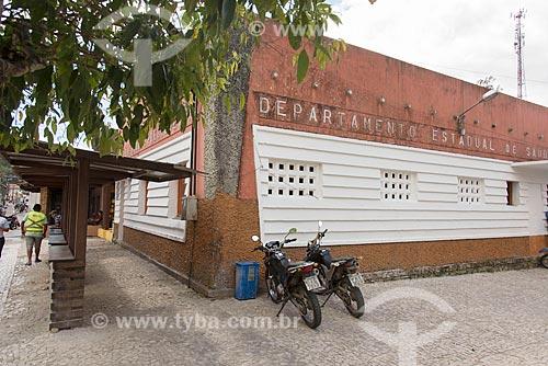 Fachada do Departamento Estadual de Saúde  - Guaramiranga - Ceará (CE) - Brasil