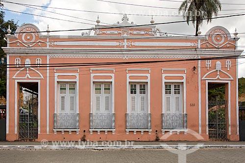 Casario no centro histórico da cidade de Guaramiranga  - Guaramiranga - Ceará (CE) - Brasil