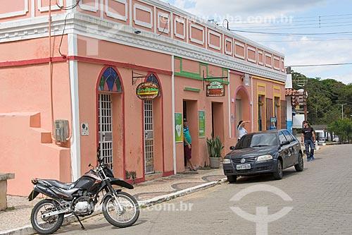 Loja em casario no centro histórico da cidade de Guaramiranga  - Guaramiranga - Ceará (CE) - Brasil