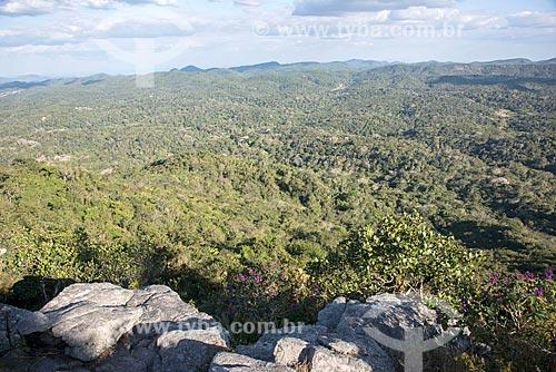 Vista geral da Área de Proteção Ambiental da Serra de Baturité  - Guaramiranga - Ceará (CE) - Brasil