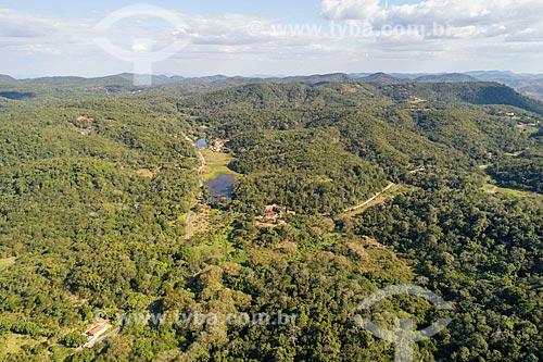 Foto feita com drone da Área de Proteção Ambiental da Serra de Baturité  - Guaramiranga - Ceará (CE) - Brasil
