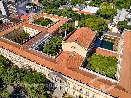 Foto feita com drone do Campus Praia Vermelha da Universidade Federal do Rio de Janeiro  - Rio de Janeiro - Rio de Janeiro (RJ) - Brasil