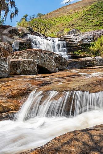 Vista da Cachoeira dos Frades no Parque Estadual dos Três Picos  - Teresópolis - Rio de Janeiro (RJ) - Brasil