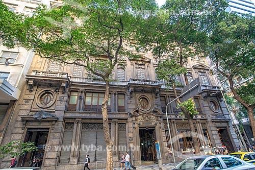 Fachada da antiga sede da Companhia de Docas de Santos (1908) - hoje abriga a sede da Superintendência Regional do IPHAN  - Rio de Janeiro - Rio de Janeiro (RJ) - Brasil