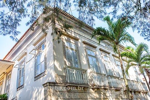 Fachada do prédio da reitoria da Universidade Federal do Estado do Rio de Janeiro  - Rio de Janeiro - Rio de Janeiro (RJ) - Brasil