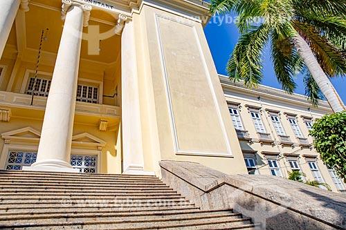 Fachada do Instituto Benjamin Constant  - Rio de Janeiro - Rio de Janeiro (RJ) - Brasil