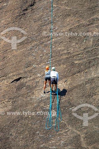 Escalada em rocha no Morro da Babilônia  - Rio de Janeiro - Rio de Janeiro (RJ) - Brasil