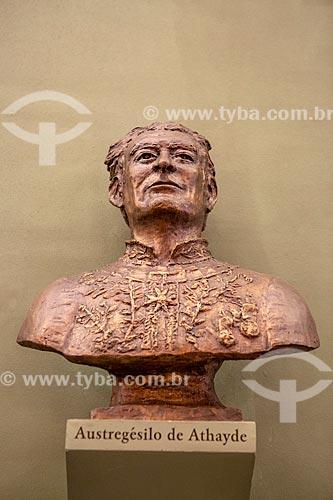 Busto de Austregésilo de Athayde na Academia Brasileira de Letras (ABL)  - Rio de Janeiro - Rio de Janeiro (RJ) - Brasil