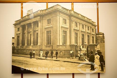 Foto histórica da fachada da Academia Brasileira de Letras (ABL) - reprodução do acervo da Academia Brasileira de Letras (ABL)  - Rio de Janeiro - Rio de Janeiro (RJ) - Brasil