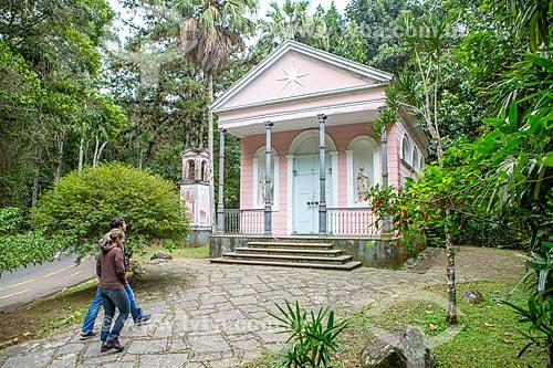 Fachada da Capela Mayrink (1855)  - Rio de Janeiro - Rio de Janeiro (RJ) - Brasil
