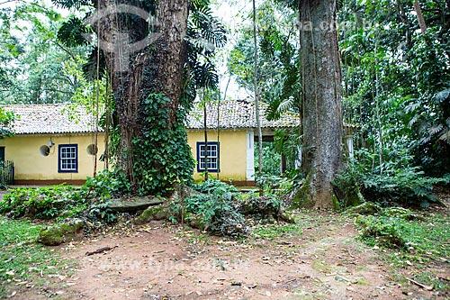 Fachada lateral do restaurante A Floresta no Parque Nacional da Tijuca  - Rio de Janeiro - Rio de Janeiro (RJ) - Brasil