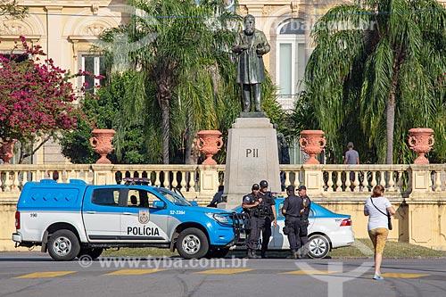 Policiamento no Parque da Quinta da Boa Vista  - Rio de Janeiro - Rio de Janeiro (RJ) - Brasil