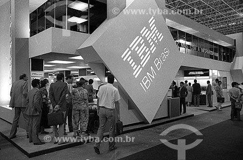 Showroom da International Business Machines (IBM) - década de 90  - Rio de Janeiro - Rio de Janeiro (RJ) - Brasil