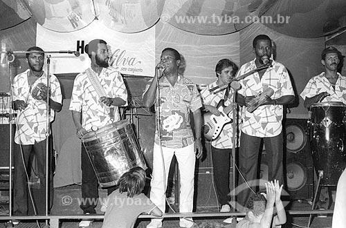 Show de Noca da Portela - década de 80  - Rio de Janeiro - Rio de Janeiro (RJ) - Brasil